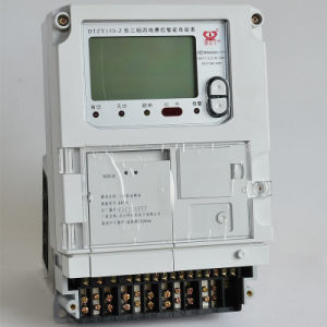 Single Phase Smart Fee Control Electronic Meter pictures & photos