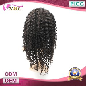 Kinky Curly Virgin Indian Women Hair Wig pictures & photos