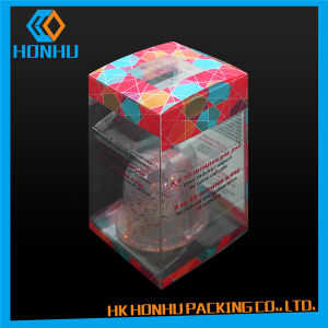 Custom Gift Toys Transparent Multicolor PVC Plastic Packaging Box