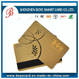 Popular and Beautiful Magnetic Card Magnetic Stripe Card with Chip pictures & photos