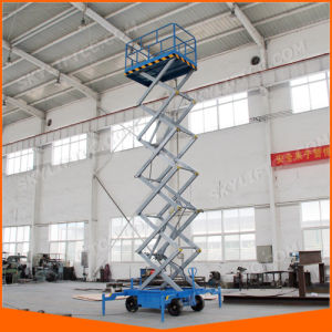 4-20m 500kg Electric Hydraulic Scissor Lift with Good Quality Price pictures & photos