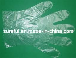0.4G HDPE Glove/HDPE Disposable Glove 0.4grams pictures & photos