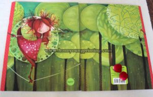 Dancing Girl in Green Trees Design New Classic Style Exercise Book