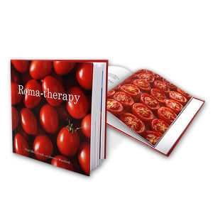 Hardcover Recipe Photo Book Printing pictures & photos