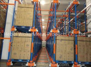 Automated Radio Pallet Shuttle Racking System pictures & photos