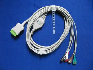 Compatible New Medical Monitor Parts for Five Leadwire SpO2 Sensor pictures & photos