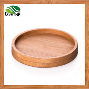 Bamboo Round Cup Coaster Cup Mat pictures & photos