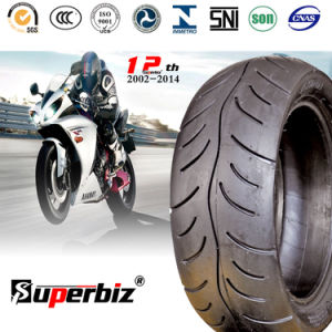 ISO Approved Scooter Tubeless Tyres (130/60-10) pictures & photos