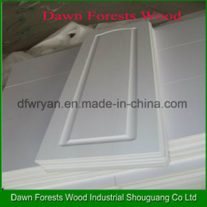 PVC Membrane MDF Core Kitchen Cabinet Door pictures & photos