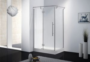 Rectangular Stainless Steel Glass Shower Cubicle \ Shower Cabin \ Shower Door Bathroom Furniture pictures & photos