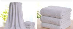 Custom Long Cotton Hotel Towel pictures & photos