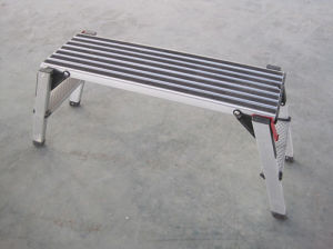 600lbs Loading Capacity Aluminium Safety Tools with Work Platform