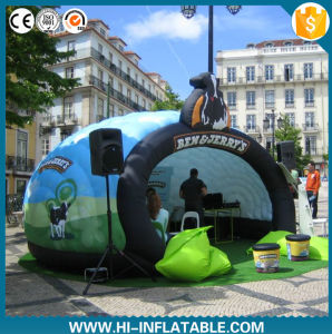 Dazzling Inflatable Dome Tent Inflatae Exhibition Tent with LED Light for Event pictures & photos