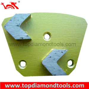 2 Arrow Segment Grinding Plate with 3-Hole-System pictures & photos