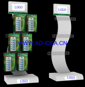 Socket Switch Electric Battery Display Stand pictures & photos