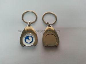 Custom Logo High Quality Metal Shopping Cart Token Key Ring pictures & photos