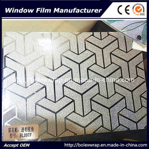 Glass Window Film Self-Adhesive Sparkle Window Film for Home Decoration pictures & photos
