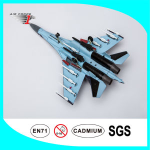Su35 No Resin Airplane Model Made of Alloy Material