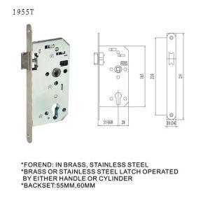 EU German Lock Body Mortise Lock Door Lock Handle Lock pictures & photos