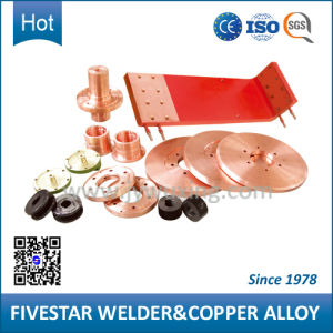 Copper Alloy Spare Parts for Steel Drum Resistance Welders pictures & photos