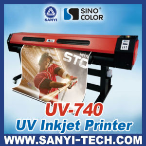 UV-740 Large Format UV Printer (High Quality Printer) , 1440dpi with Epson Dx7 Heads pictures & photos