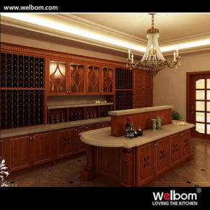 2015 New Welbom Classic Wooden Wine Cellar with Island pictures & photos