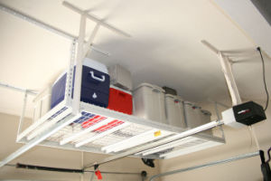 Ceiling Storage Rack Organize Garage Steel Space Saver Roof Shelf Overhead Tools pictures & photos