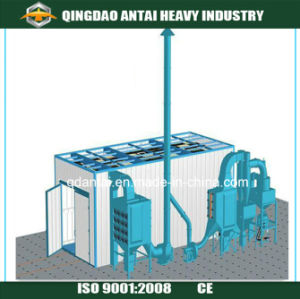 Q26 Sand Blasting Room/Industrial Sand Blasting Room/Air Sand Blasting Room pictures & photos
