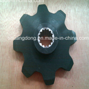 Agricultural Sprockets with Black Oxide Finished