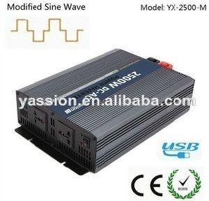 Power Invertor 2500W Modified Sine Wave Inverter for Home Use 12V 220V