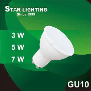 4100k 3W LED Spotlight GU10 with High Luminous Efficiency