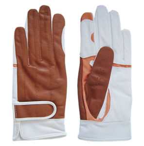 Brown Cabretta Golf Glove (CGL-58) pictures & photos
