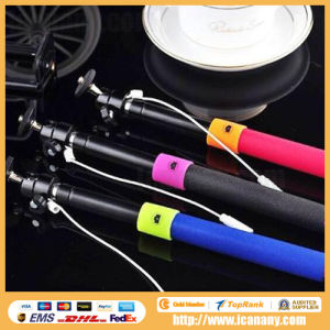 Cable Take Pole for Smart Phone Selfie pictures & photos