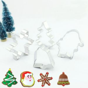 Wholesale Set of Christmas and Halloween Cake Cookie Biscuit Baking Molds pictures & photos