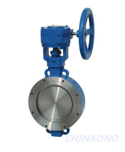 Laminated Metal-Seal Wafer Type Flange Butterfly Valve pictures & photos
