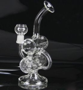 Bontek Hand Blown Awesome Recycler Glass pipe Percolators Ash Catcher pictures & photos