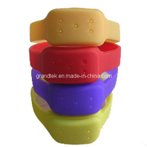 Silicone Five Insect Anti Mosquito Bracelet for Kids pictures & photos