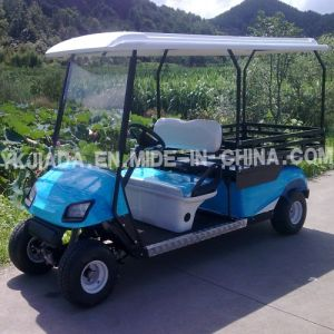 CE Approved 2 Seat Electric Food Car (JD-GE502D) pictures & photos