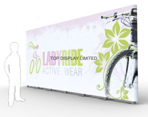 Factory Advertising Portable and Modular Aluminum Fabric Exhibition Booth Exhibition Display Banner Equipment Promotion pictures & photos