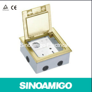 Floor Socket Multi Purpose Ground Power Outlet Suitable for Concrete Floor (SCD-180BC) pictures & photos
