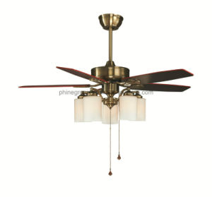 Phine Af02-Ab 52 Inch Plywood/Iron Blade Air Ceiling Fan with Lighting pictures & photos