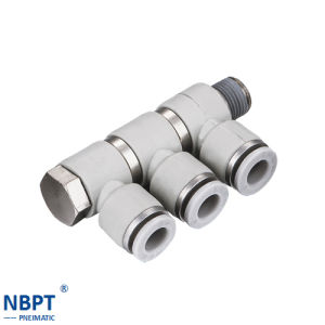 Pneumatic Joint Four Angle Pipe Fittings/Phl pictures & photos