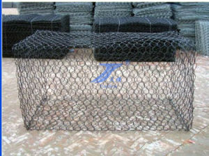 2X1X1m 8X10cm Aperture Hexagonal Wire Mesh Gabion Cages pictures & photos