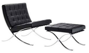Modern Designer Furniture Barcelona Chair Lounger Sofa Set pictures & photos