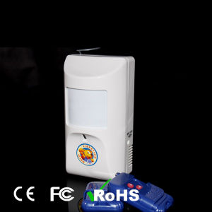Independent PIR Alarm Sensor with Two Remote Control pictures & photos