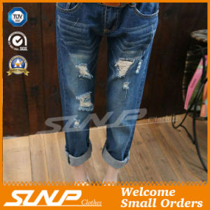 Women Ripped Jeans Pant Denim Pant Summer Pants Clothes