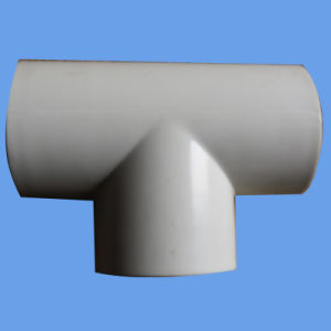 ISO4422 and AS/NZS1477 PVC Euqal Tee for Pressure Pipe pictures & photos