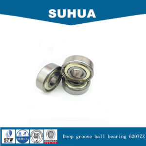 Metric Size Single Row Deep Groove Ball Bearing (6207ZZ) pictures & photos