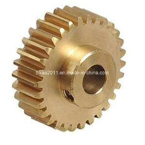 Staright Teeth Brass Wheel Gear, Brass Spur Gear Manufacturer pictures & photos
