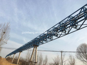 Pipe Belt Conveyor Machinery / Pipe Conveyor From China Top Manufacturer pictures & photos